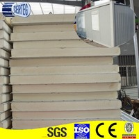 PU sandwich panel for roof & wall, exported Europe, Africa, Aisa and USA