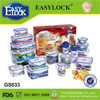 EASYLOCK china factory plastic empty gift boxes for sale wholesale,airtight,watertight