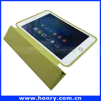 New Products For iPad Mini 4 Leather Case Flip Leather Stand Case