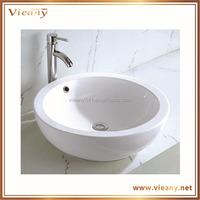 bathroom sanitary ware art basin with round shape ceramic Artistic basin