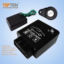 Plug&Play Blutooth OBDII Diagnostic Tool con RFID y Inmovilizador TK228