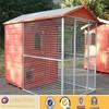 Black steel welded wire mesh dog cage