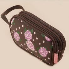 Popular latest brush organizer make up bag
