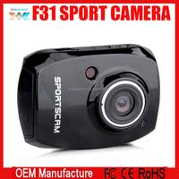 Action Camera Diving Full HD DVR F31 Mini 30M Waterproof extreme Sport Helmet 1080P G-Senor Camcorder