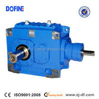 B Right Angle Helical Bevel Gearbox High Power Gear Units Reducer