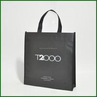 Custom name non-woven fabric nonwoven drawstring shoe bag