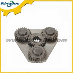 Construction machinery spare parts, 1st level swing reduction carrier gearbox assembly for Komatsu PC60-7
