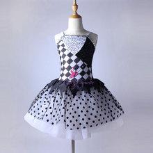 Novo design de 2016 meninas ballet dança tutu vestido bailarina trajes de dança criança e adulto size disponível stage show costum15086