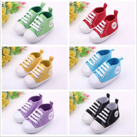 Wholesale shoes baby canvas moccasins,Fashion Infant Baby Shoes 0-1T
