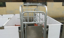 Farm & livestock equipment pig cage