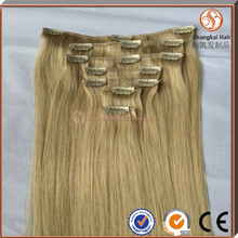 High Quality Double dawn 100% Remy Hair Extension 40 Inch Blonde Hair Extensions