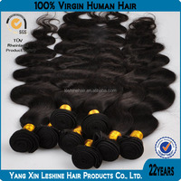 hotsale 6a 7aGrade virgin sewing machine wholesale unprocessed philippine full cuticle body wave hair extension