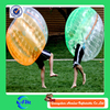 Half Color giant inflatable human size bubble ball TOP Quality bumper knocker ball for adult