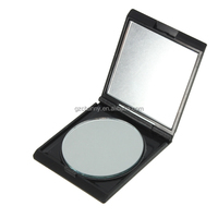 Wholesale New Fashion Black Mini Double Size Nursing Portable Cosmetic Cute Folding Makeup Pocket Mirror Compact For Girl Gift