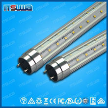 UL DLC 240 degree g13 v - shape LED tube for refrigerator display case 5 years warranty