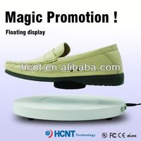 new invention ! magnetic levitating led display stand for shoe woman,rand shoes