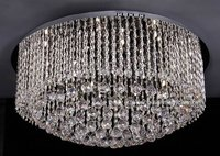 2014 nice modern round low ceiling crystal chandelier