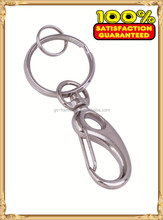 key chain snap hook with ring, snap hook factory with 10 years production experience JL-387
