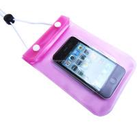 PVC waterproof zip lock bag for phone pack