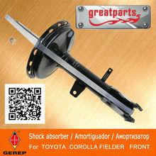 High quality front Oil shock absorber for TOYOTA COROLLA SEDAN/COROLLA WAGON/COROLLA AXIO/COROLLA FIELDER 4851012F30B 4851013110