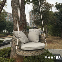 ALUMINIUM OUTDOOR GARDEN RATTAN HANGING CHAIR