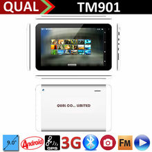 9 inch MTK8312 dual core android tablet pc with phone calling Bluetooth FM GPS Full Function Android 4.4 C