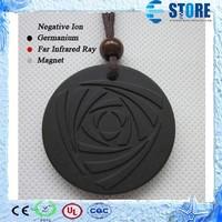 Fashion Unisex Energy Rose Volcanic Lava Scalar Cheap Necklace Pendant