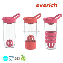 700ml Sport Bottle Protein Gym Shaker bottle, Plastic shaker Bottle