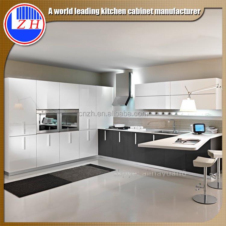 Australia Standard Modern Lacquer Finishing Kitchen Cabinet Design For Big Villa Buy Modern