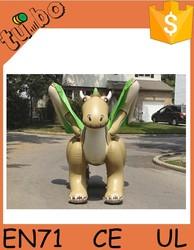 animal model toy giant inflatable dragon
