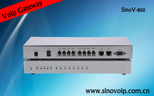 Factory Price 8 ports SIP Voip usb FXS/ FXO Voice Gateway