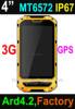 Cheap Factory 4 inch Waterproof phone Rugged smart Phone with IP67 Rugged Smartphone Rugged Mobile phone