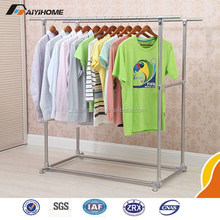 New design Folding style 2 tiers Electric heated hanging clothes drying rack stainless steel folding wing hanging clothes rack/