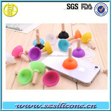 Mini Suction Cup Silicone Pad for Mobile Phone