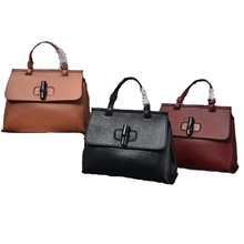2015 Latest Dongguan PU leather bags BSCI fashion PU leather handbags for women
