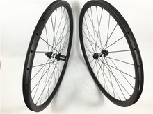 FSC30CM-25T Farsports 30mmx25mm full carbon clincher cyclo cross bike wheel set 3 Cross lacing straight pull DT hub disc braking