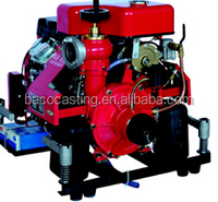 high pressure water pump for fire engine gasoline engine driven fire fighting pump used