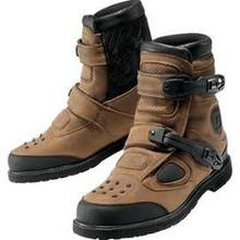 Icon Patrol Waterproof Motorcycle Boots Brown US