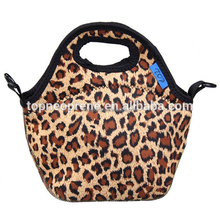 2015 fashion tote insulated neoprene lunch bag