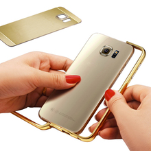 New design silver/golden/grey cell phone metal case for huawei mobile phone