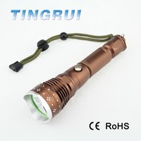 Aluminum 18650 Rechargeable police 50w flashlight