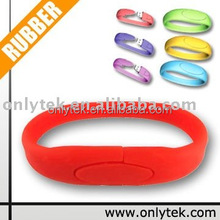 New Product Cheap Bulk Bracelet USB Flash Drive 8GB Free Sample