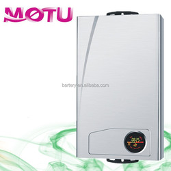 Flame plating gas water heater with new design