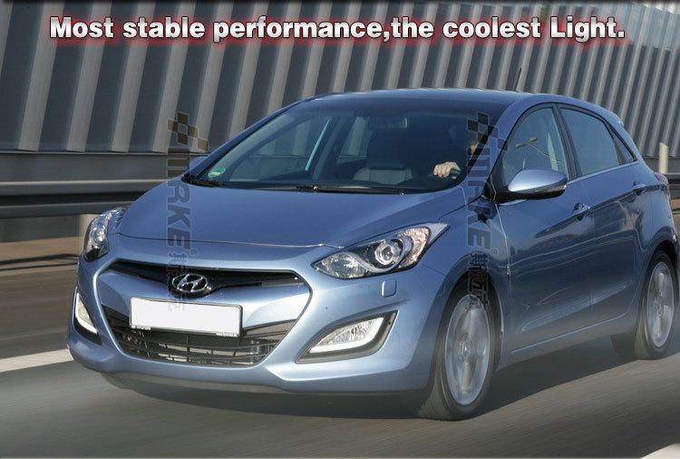 Car Styling For Hyundai I30 2014-2016 Led Daytime Running Light,Led Drl For I30 Fog Lamp - Buy