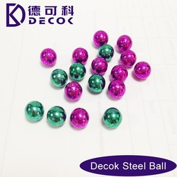 aisi1015 carbon steel ball colorful paint steel ball