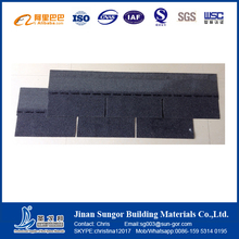 New Construction Products Colourful Fiberglass Asphalt Roof Tile for Villa