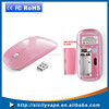 Promotional Computer 2.4G Slim Wireless Gift Mouse with mini receiver