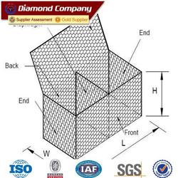 best quality gabion box prices factory / hexagonal gabion mesh / gabion mesh