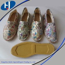 Trustworthy china supplier espadrilles shoes, lady espadrille wedge