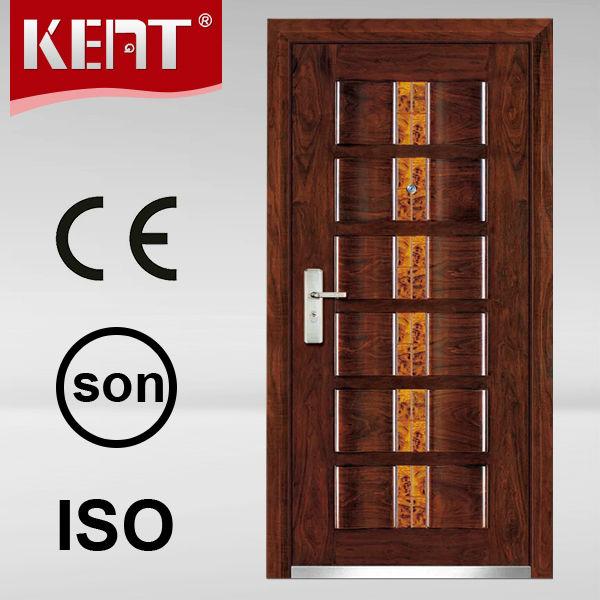 Latest design metal door gates single door designs steel for Latest single door design